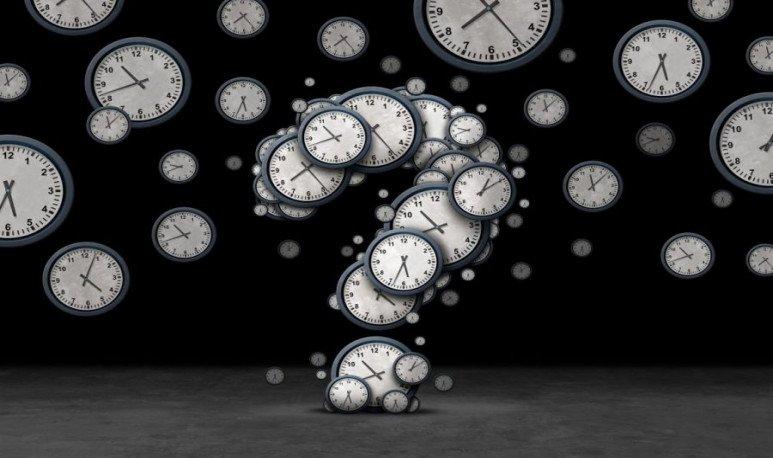 pasado, presente, futuro. Relojes