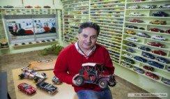 Casi tres mil autitos integran una colección única en la comarca Viedma-Patagones