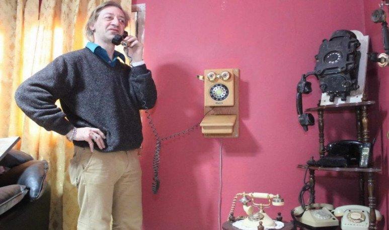 Un amante de los teléfonos