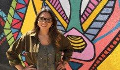 Barbara Roggero: Una artista que embellece su ciudad pintando murales