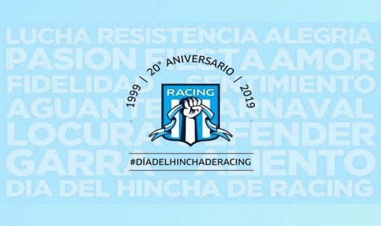 Día del hincha de Racing