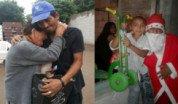 Ramoncito, un vecino solidario que hace changas para ayudar a los demás