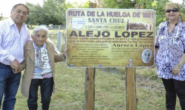 Aurora tiene 97 años
