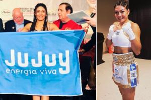 Carabajal se consagró Campeona Mundial Pluma