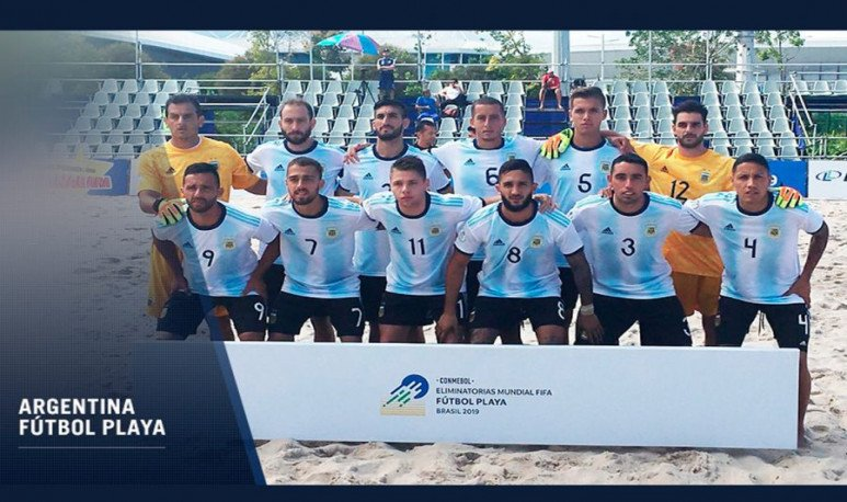 Futbol playa Argentina