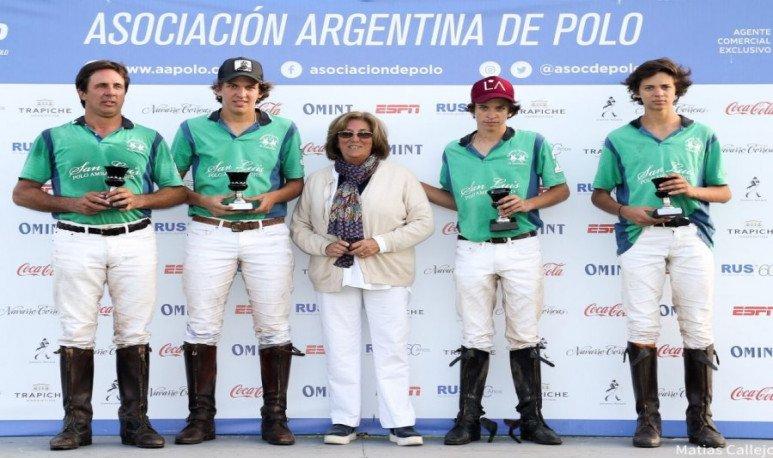 Ellerstina y Las Bétulas ganaron en Palermo el torneo abierto