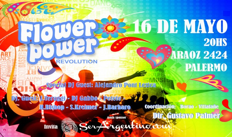 Flyer Flower Power Ser Argentino1