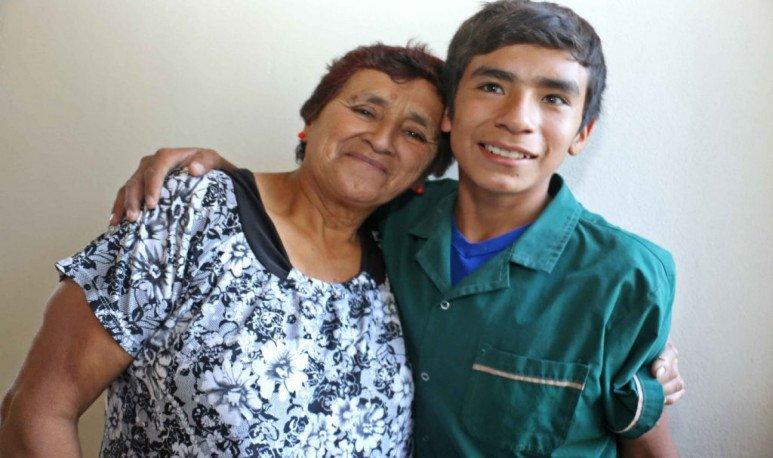 The little Sanjuanino teacher Nicanor inaugurated his school