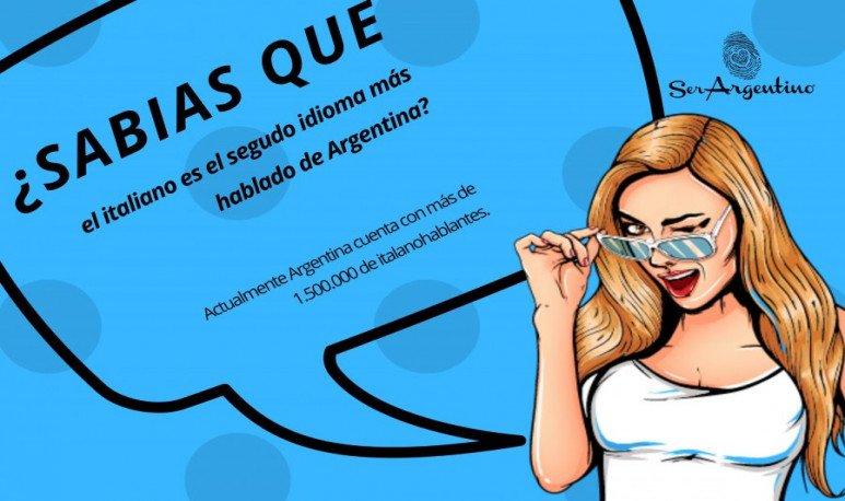 SABIAS QUE... italiano idioma en argentina