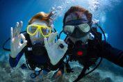 Un arrecife artificial produce un boom del buceo