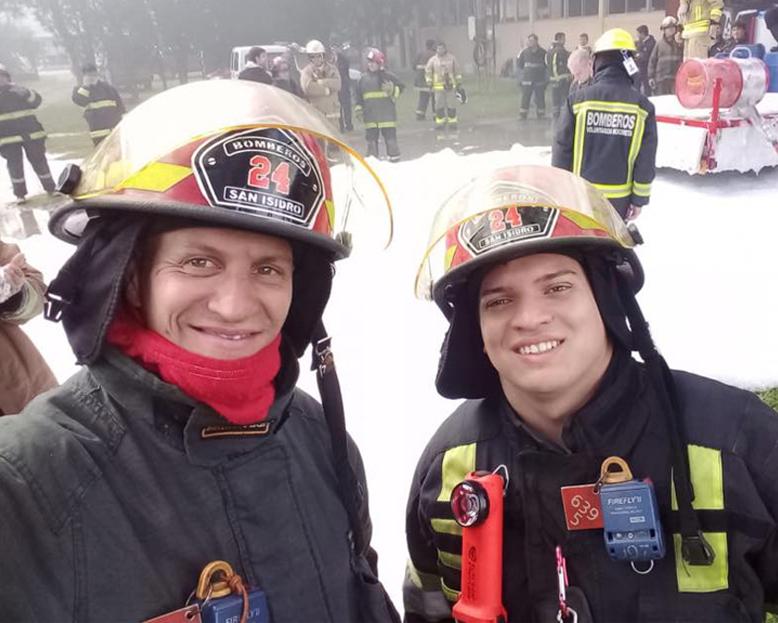 Dia del bombero voluntario