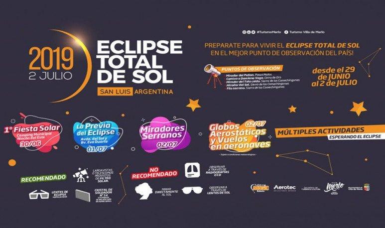 Villa Merlo Eclipse total