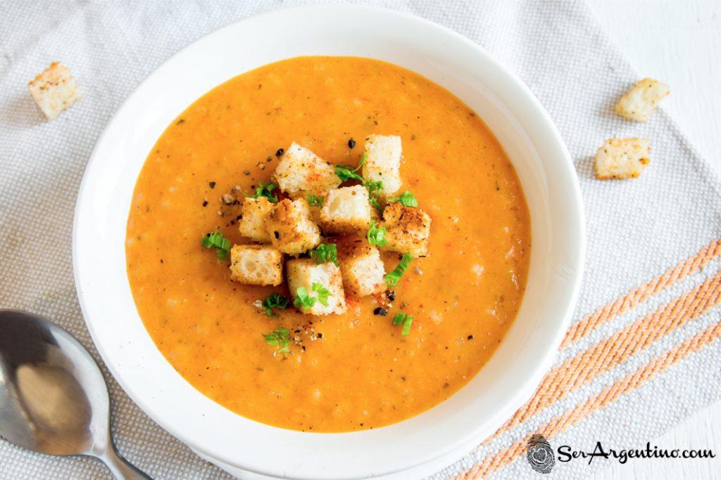 Super sopa de calabaza