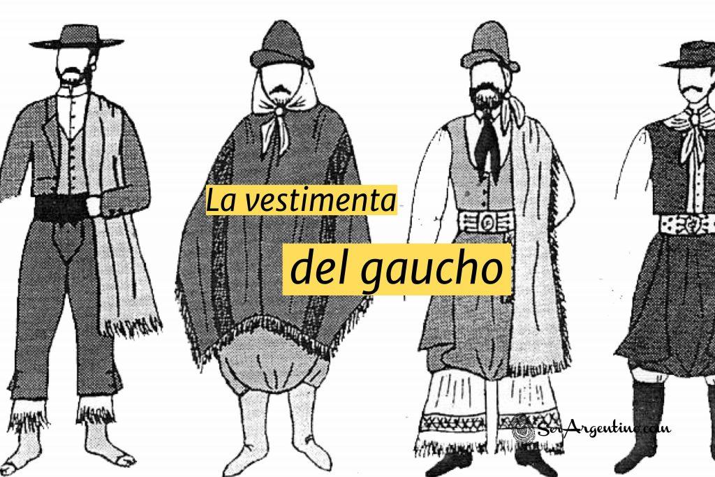 la vestimenta del gaucho