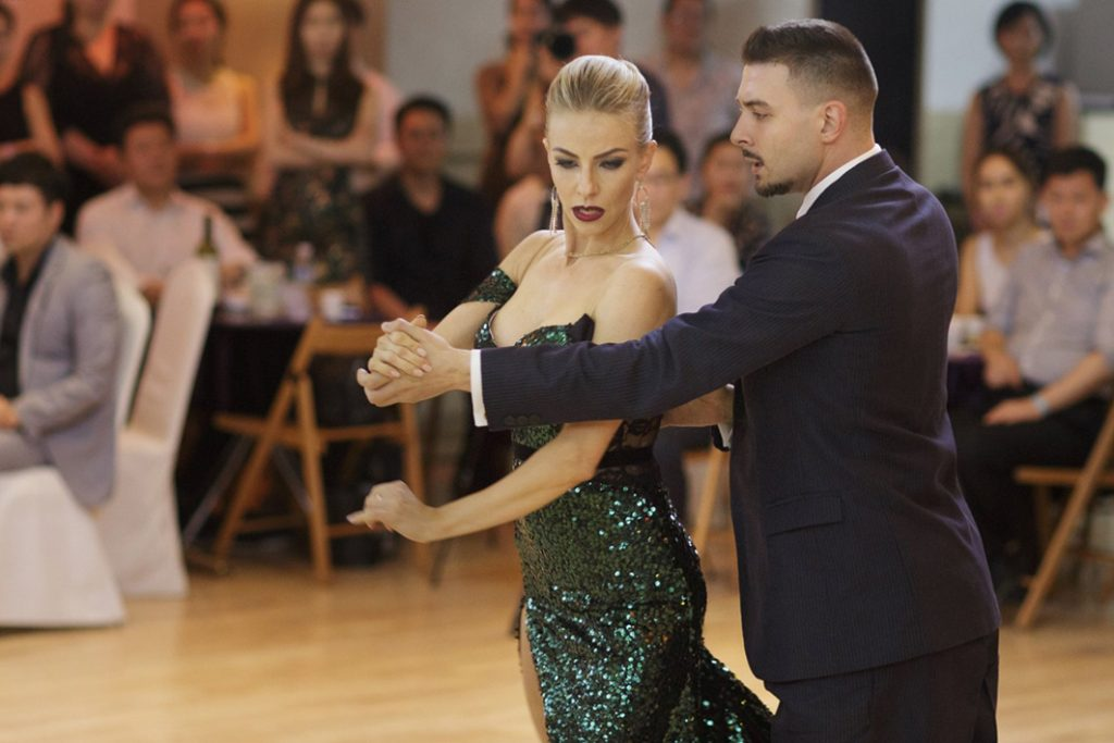 Kirill Parshakov y Anna Gudyno
