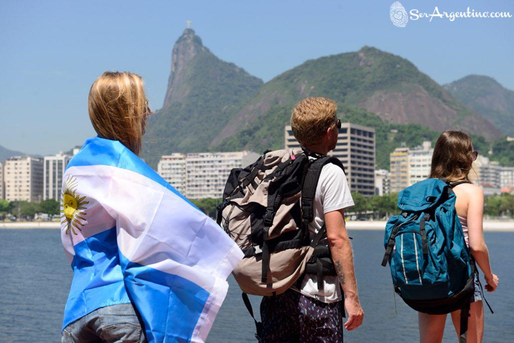 Los argentinos como turistas