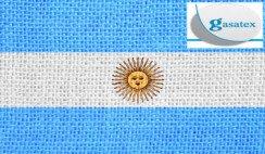Tejidos con estampa argentina