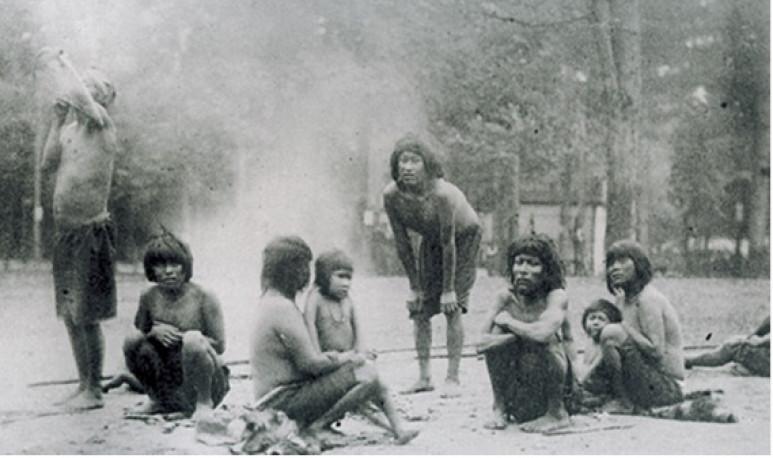 Fotografía tomada porPierre Petit en septiembre de 1881