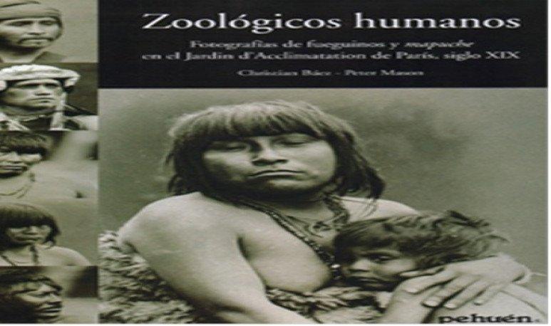 """Portada del libro de Christian Báez y Peter Mason """"Zoológicos humanos"""" ("""