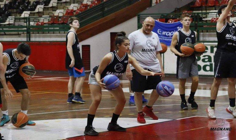 campus basketball Magnano