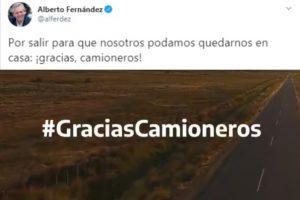 #Gracias Camioneros