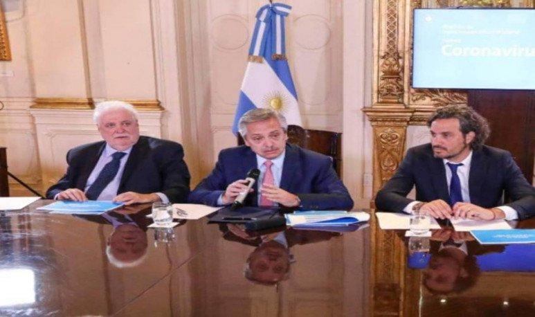 Alberto Fernandez y Gabinete (1)