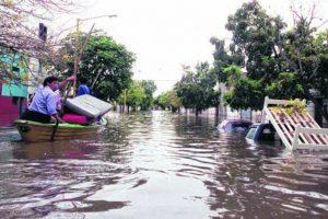 Inundación Río Salado Santa Fé