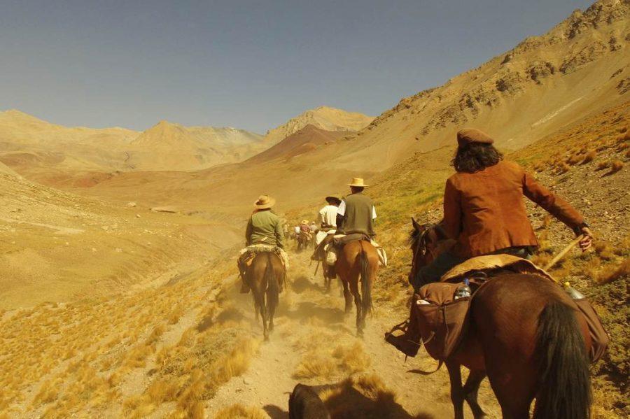 Salida del Refugio- Cruce de los Andes