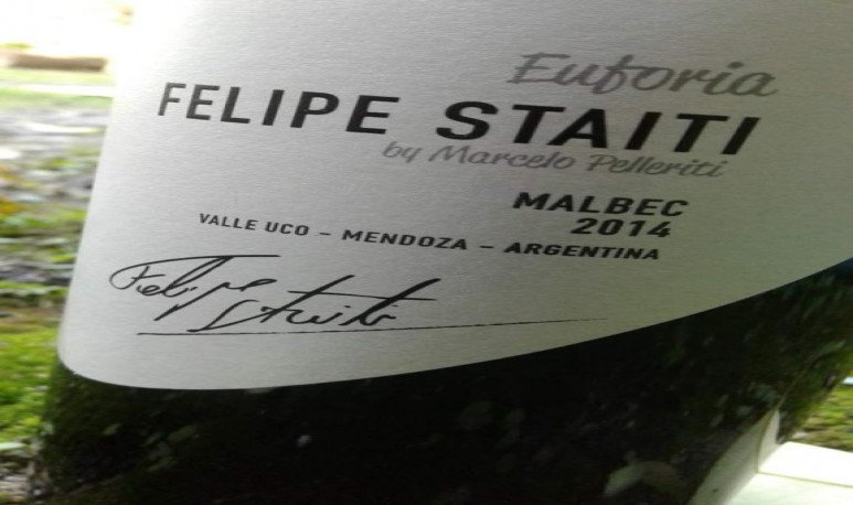 Felipe Staiti Euforia vinos