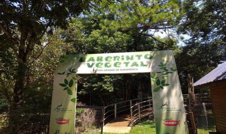 Vegetable Labyrinth Of Juan Vortisch Provincial Park