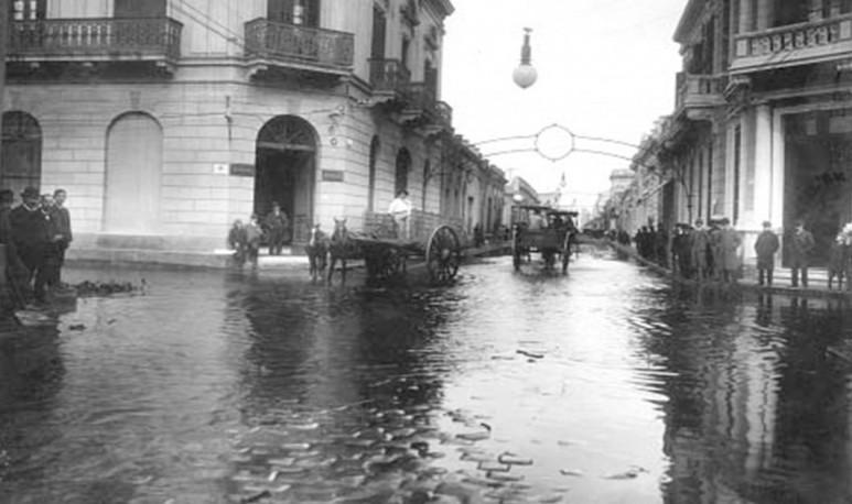 Inundaciones hubo siempre