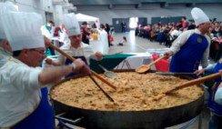 Una fiesta y el auténtico risotto