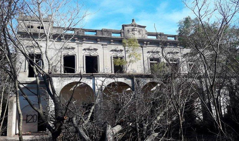 Un castillo misterioso en el sur de Santa Fe
