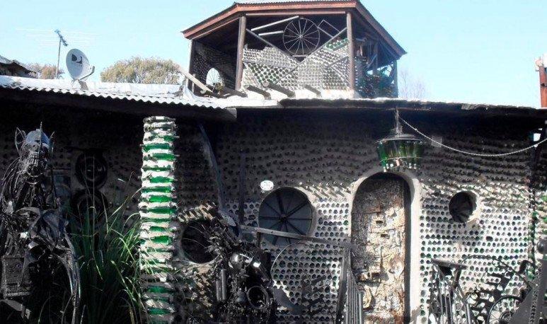 la casa de las botellas en quilmes