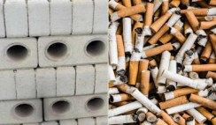 Recolectaron miles de colillas de cigarrillos en plazas