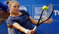 Volvió el tenis: una rosarina ganó el primer partido