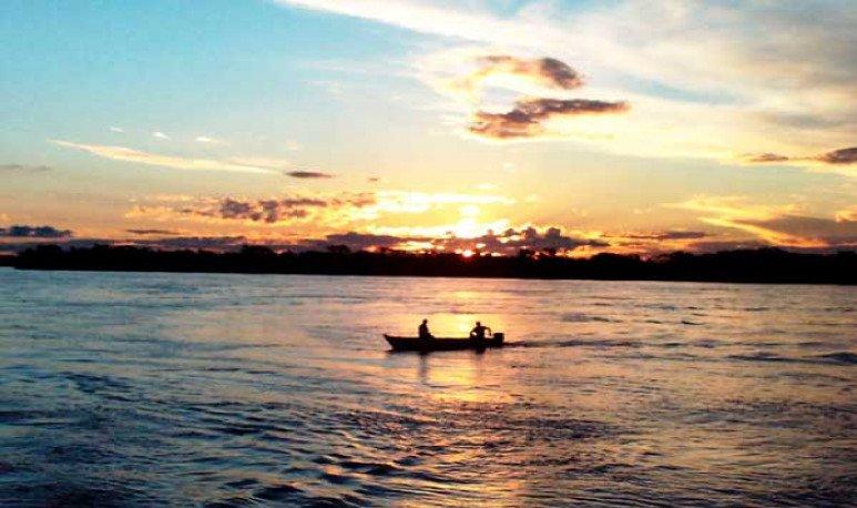 río Paraná en Rosario
