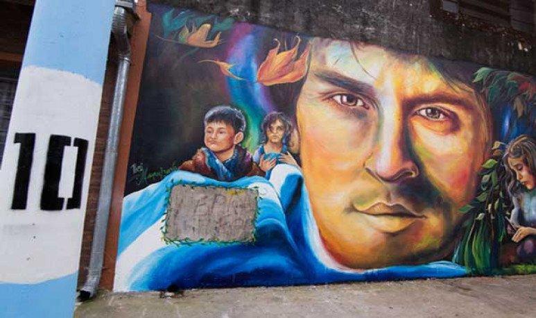 Rosario se llenó de murales
