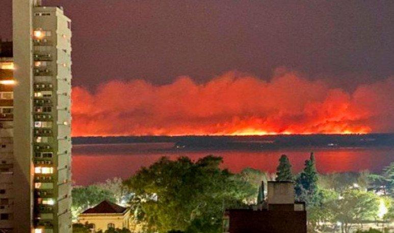 incendios en los humedales