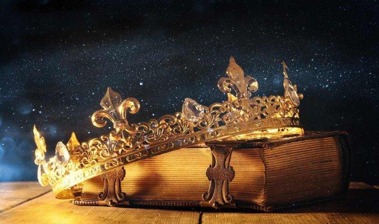 la corona de la reina