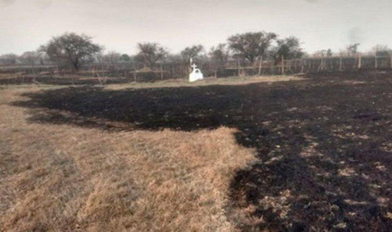 quema de pastizales