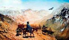 San Martín y el cruce de Los Andes