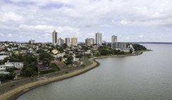 Ciudad de Posadas panorámica