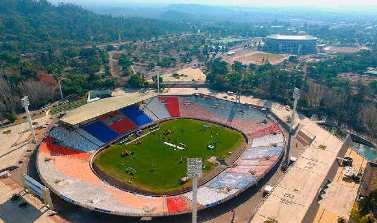 El estadio mundialista