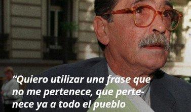 """16. """"Quiero utilizar una frase que no me pertenence , que pertenece ya a todo el pueblo argentino: `Nunca más´"""" - Julio-Strassera - Frases y Populares Argentina"""