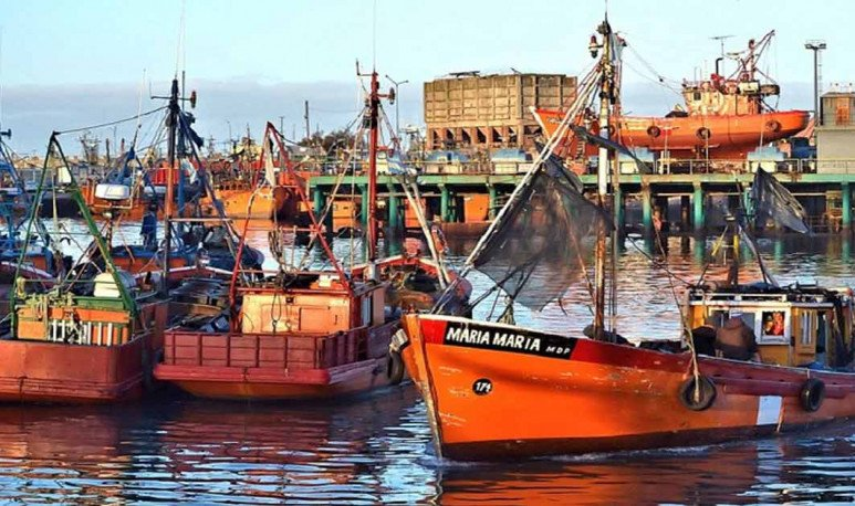 Banquilla-de-pescadores Mar del Plata