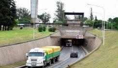 vista de túnel subfluvial que une Entre Ríos y Santa Fe