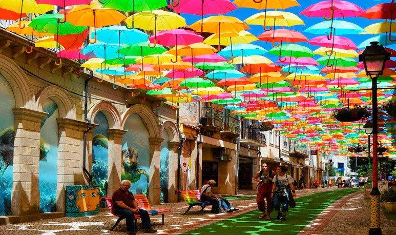 Córdoba bajo paraguas