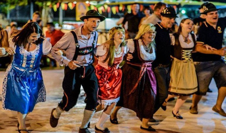 Una fiesta alemana en pleno territorio santafesino