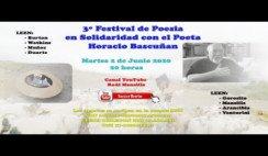 Tercer Festival de Poesia por Horacio Bascuñan